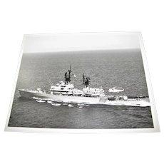 "USS JOUETT (CG 29), USN Navy Photo 1980's 8""x10"", Excellent Condition"