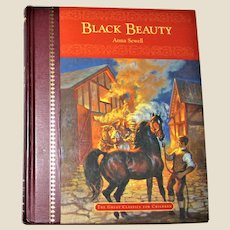 Black Beauty by Anna Sewell - The Great Classics for Children HC Leather Spine, VG+