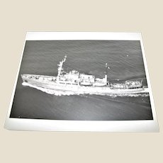 Photograph of Soviet Nikolay Zubov Class Oceanographic Research Ship 1980's 8x10, Excellent Condition