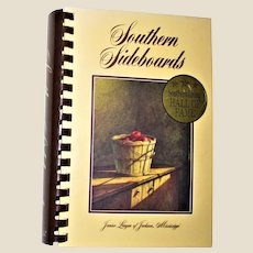Southern Sideboards by Mississippi's Junior League of Jackson (Southern Living Hall of Fame) HC Spiral 1996 Fifteenth Printing, Like New