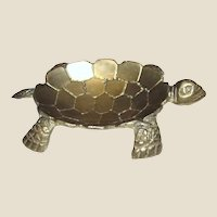 Cast Brass Turtle Trinket Tray