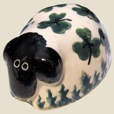 Signed O'Neill  of Bunratty Castle Pottery Ireland Sheep