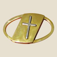 Vintage Christian Prayer Car Key Holder