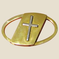 Vintage Christian Prayer Car Key Holder