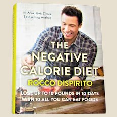 The Negative Calorie Diet : Lose Up to 10 Pounds in 10 Days HCDJ 1st Edition, Like New