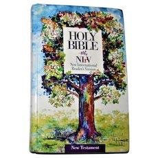 Children's Bible New Testament, New International Reader's Version (NIrV) - Young Reader's Edition, HC 1995 VG+
