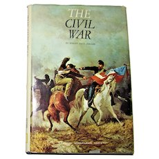 The Civil War by Robert Paul Jordan National Geographic 1969 HCDJ 5th Printing 1982, MAP Included, VG+