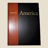 "Rand McNally's America, Beautiful Photos, Maps, HC  1st Edition 3rd Printing. Large 11"" X 15"",  Like New"