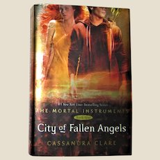 City of Fallen Angels by Cassandra Clare [The Mortal Instruments Book Four]  HCDJ  1st Edition 5th Printing, Like New