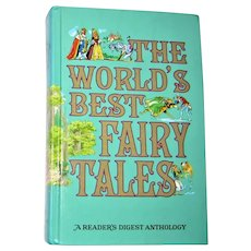 The Worlds Best Fairy Tales A Readers Digest Anthology 1977 HC VG+