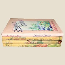 Collection of 4 Small Hardcover Faith Poetry Books by Helen Steiner Rice HCDJ VG+
