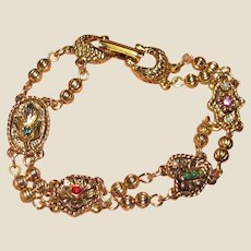Goldette Charm Chain Bracelet, Pretty!