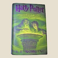 Harry Potter and the Half Blood Prince by Rawling HCDJ 1st US Edition, 1st Printing, Like New