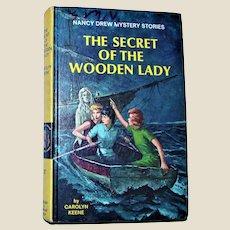 "Nancy Drew Mystery Stories ""The Secret of the Wooden Lady"" by Carolyn Keene Hardback 1967 Excellent"