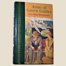 Anne Of Green Gables by Lucy Maud Montgomery, Hard Cover Book ¼ Leather 1988 Nearly New