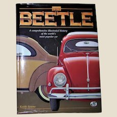VW Beetle: A Comprehensive Illustrated History of the World's Most Popular Car by Keith Seume, Large HCDJ 1997 VG+