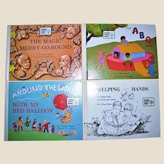 Wonder World Books, Vintage Christian Children's Books by V. Gilbert Beers 4 HC Excellent