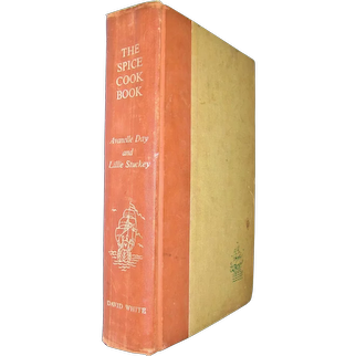 The Spice Cookbook by A. S. Day and L. Stuckey (1964, Hardback) 1st Edition 1st Printing, Good