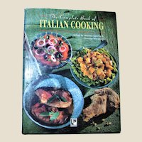 The Complete Book of Italian Cooking by Christine McFadden HCDJ 1996 1st Edition 1st Printing, VG