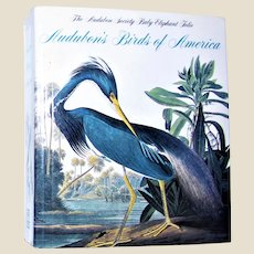 "Audubon's Birds of America: The National Audubon Society Baby Elephant Folio, Softcover 4 ½"" x 3 ¾"", Nearly New"