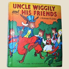 Uncle Wiggily and His Friends by Howard Garis 1955 Hardcover, Illustrated, Excellent