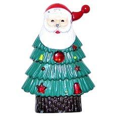 Collectible Novelty Christmas Tree Santa Lighter, Refillable
