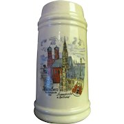 Munchen 20th Olympiade (1972) Beer Stein made in West Germany