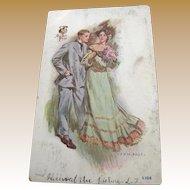 1907, Sweet Pea by J. V. McFall copyright 1906