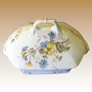 Delightful Late Victorian Lidded Floral Tureen