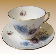 Royal Vale Bone China Cup & Saucer