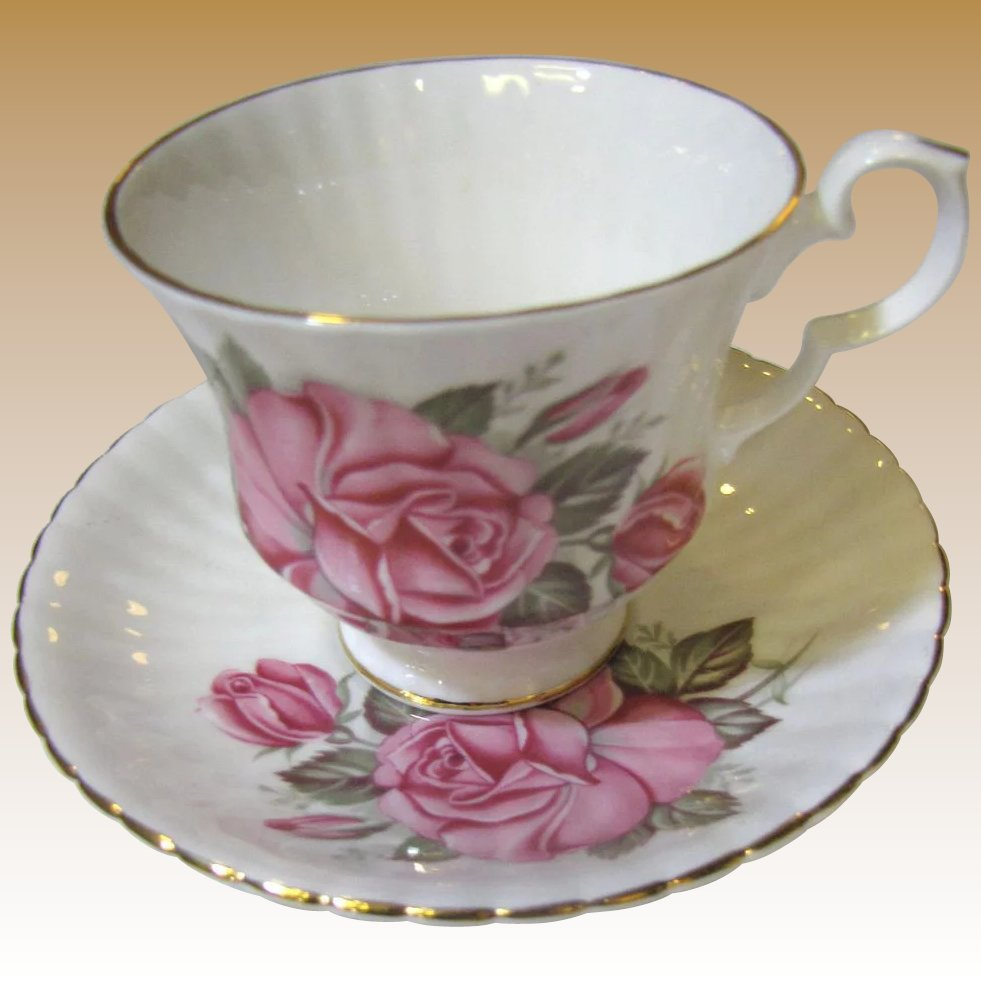 Rose Pattern China Interesting Decorating