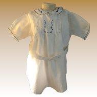 Charming Older Vintage Romper Suit for Doll