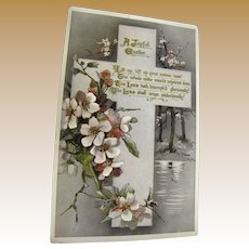 """1911, """"A Joyful Easter"""" Tuck's Post Card Easter series no. E. 3636 Made in England"""