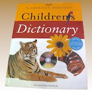 """""""The American Heritage Children's Dictionary"""" (for children in grades 3-6)"""
