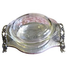 Great Looking Aluminum Carrying Tray (Glass Dish IS NOT Included)