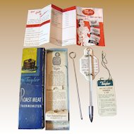 Vintage Taylor Roast Meat Thermometer #5936