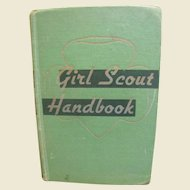 1949 Girl Scout Handbook Intermediate Program
