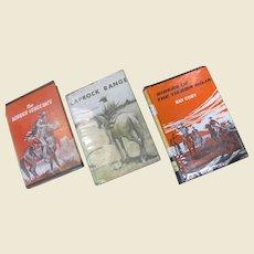 Fw: Set of 3 westerns: The Border Vengeance, Caprock Range & Riders of the Tierra Roja