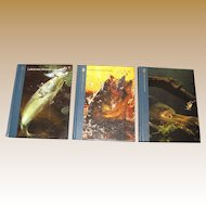 "Three Book Set ""The Huntiing and Fishing Library""‏"