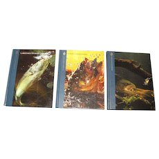 """The Hunting and Fishing Library""‏ Three Book Set"