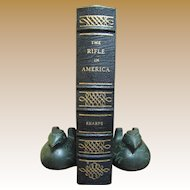 "Like New Leather ""The Rifle In America"" NRA Firearms Classics Library‏"