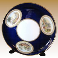 George Grainger Worcester 1889-1902 Hand Painted Cabinet Plate No 2
