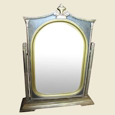 Lovely Gilt Wood Antique Swing Picture Frame with Original Glass