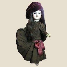 """Really Lovely Wool Challis Dress for 20"""" Doll, Super Full Skirt!"""