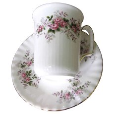 Lovely Mug & Saucer in the Lavender Rose Pattern by Royal Albert (6 available)