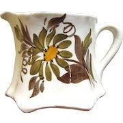 "Pretty 2 3/4"" Creamer by Cash Family American Artisan Pottery"