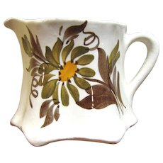 "Pretty 2 3/4"" Creamer by Cash Family American Artisan Pottery"
