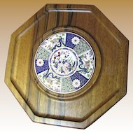 Lovely Quality Hardwood and Tile Japanese Cheeseboard