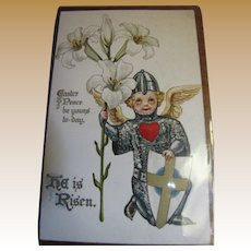 "1910 ""Easter Peace be Yours Today He is Risen"""