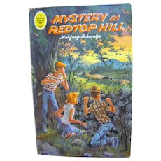 1965, A Whitman Tween Age Book #1756, Mystery at Redtop Hill by Marjory Schwalje‏
